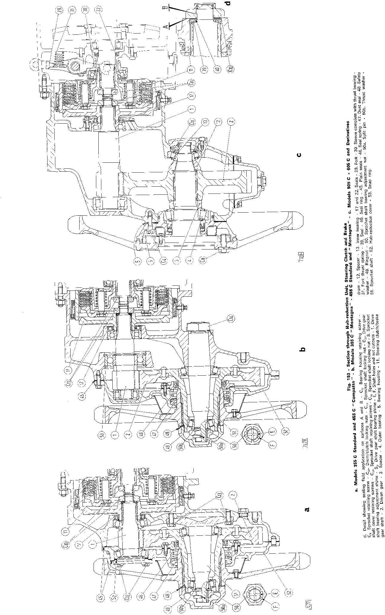 Fiat 355C, 455C, 505C, 605C Crawler Tractor Workshop Service Manual (6035416200) - 3