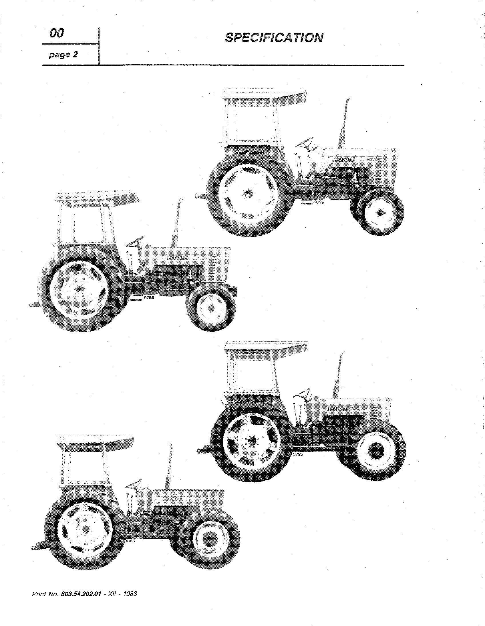 Fiat Low 580, 580DT, 680, 680DT Series Tractors Workshop Service Manual - 2