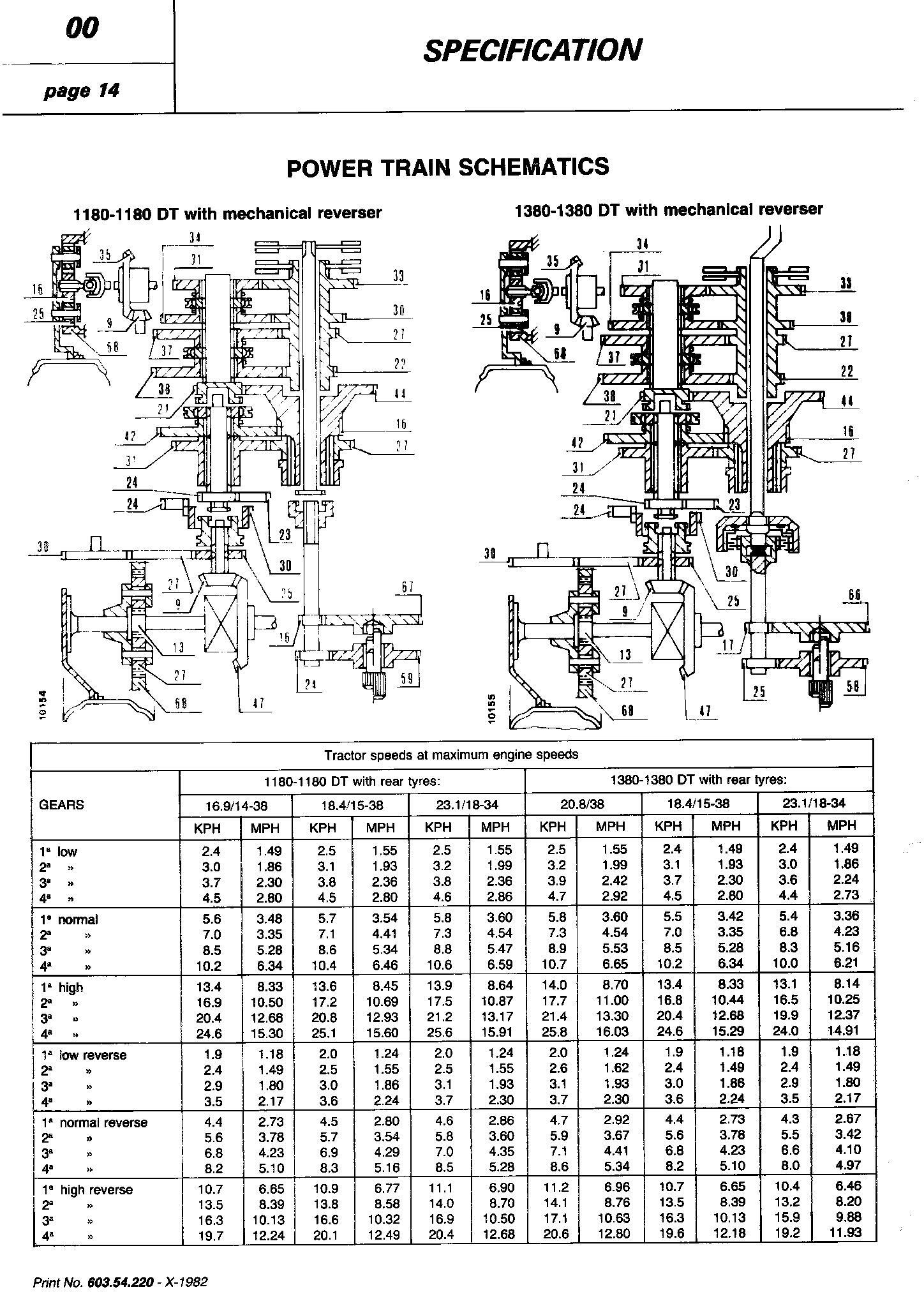 Fiat 1180, 1280, 1380, 1580, 1880 (DT) Tractor Service Manual (6035422000) - 2