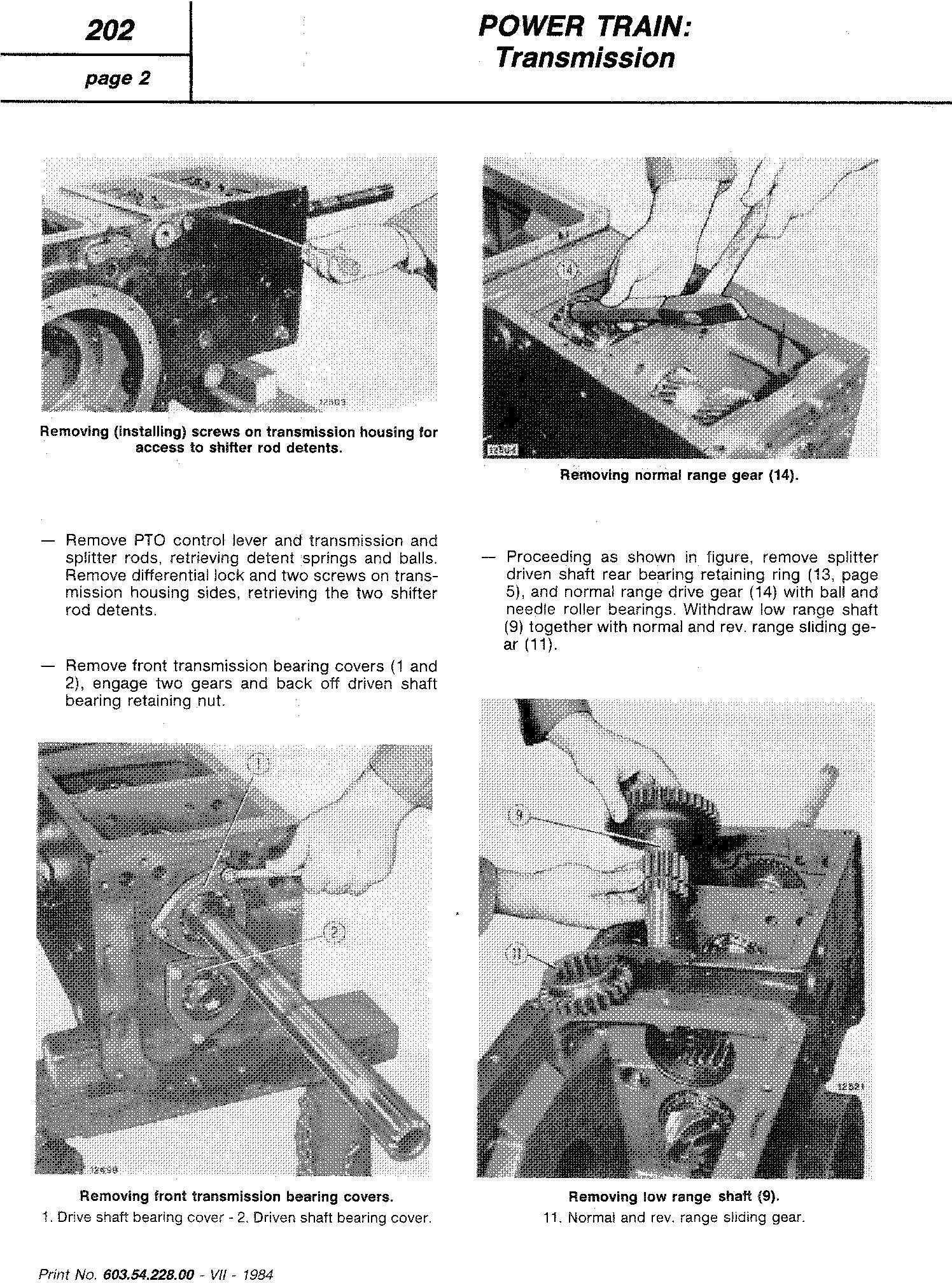 Fiat 466, 466DT, 566, 566DT, 666, 666DT, 766, 766DT Tractor Service Manual (6035422800) - 3