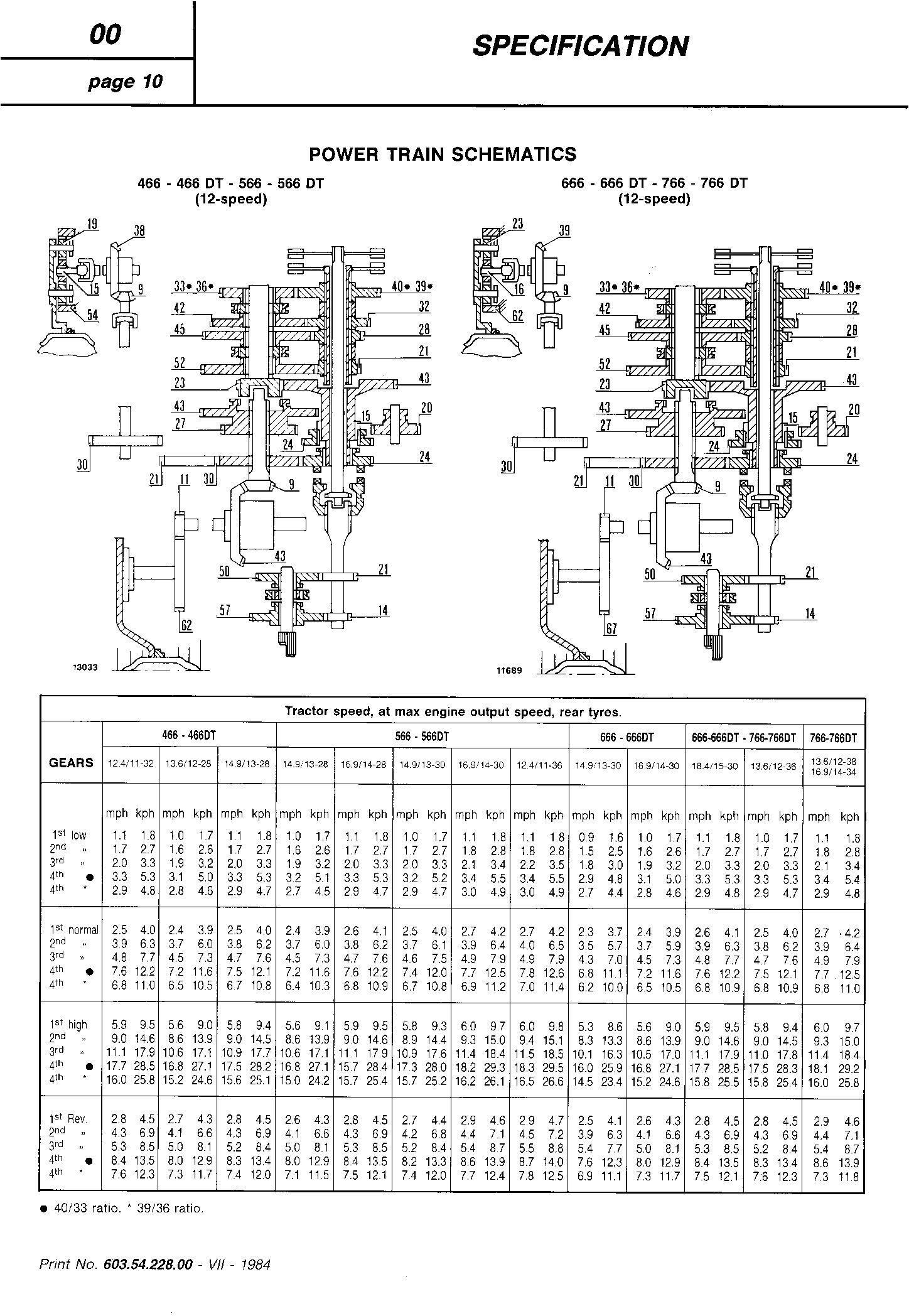 Fiat 466, 466DT, 566, 566DT, 666, 666DT, 766, 766DT Tractor Service Manual (6035422800) - 2