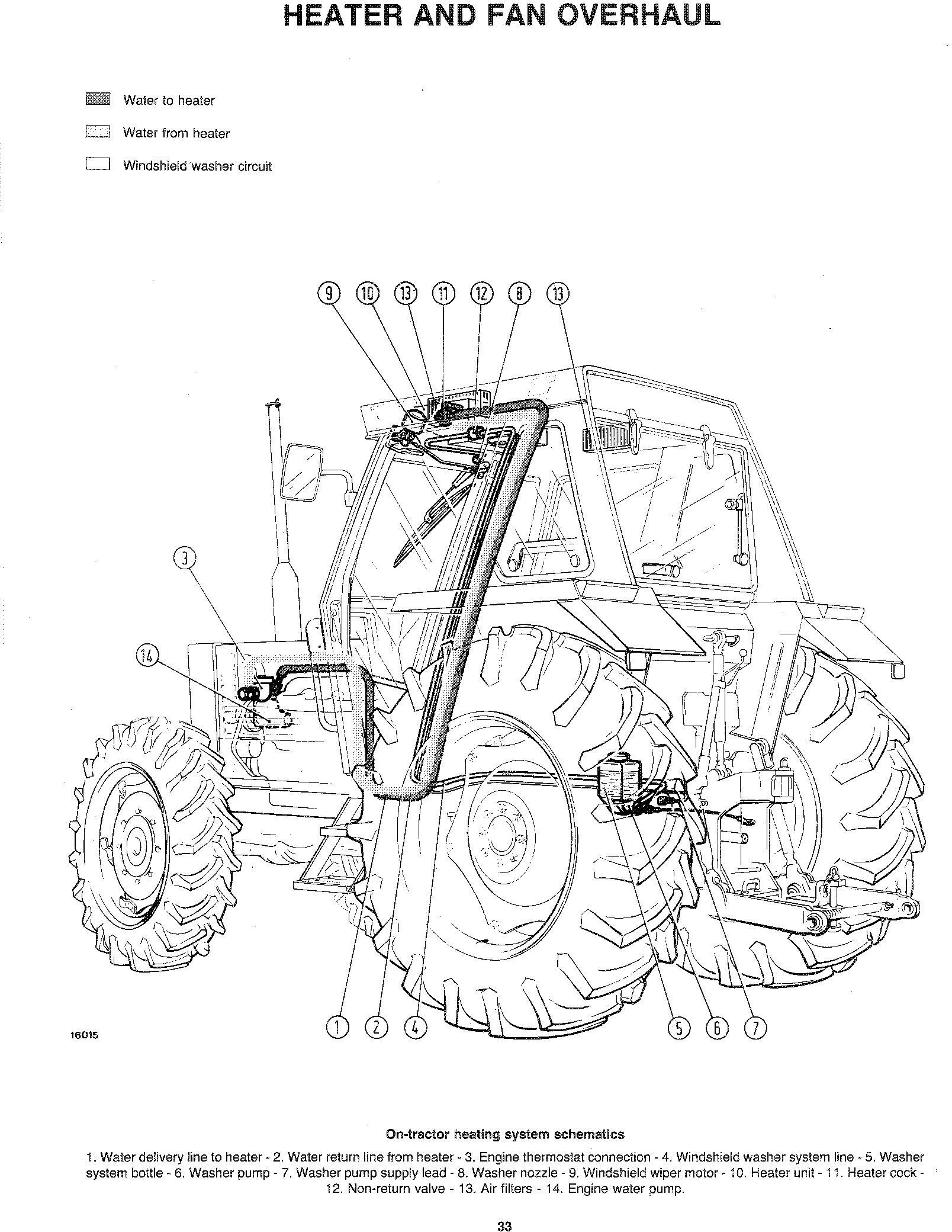 Fiat 55-90 60-90 70-90 80-90 90-90 100-90 115-90 130-90 140-90 160-90 180-90 Tractor Service Manual - 3