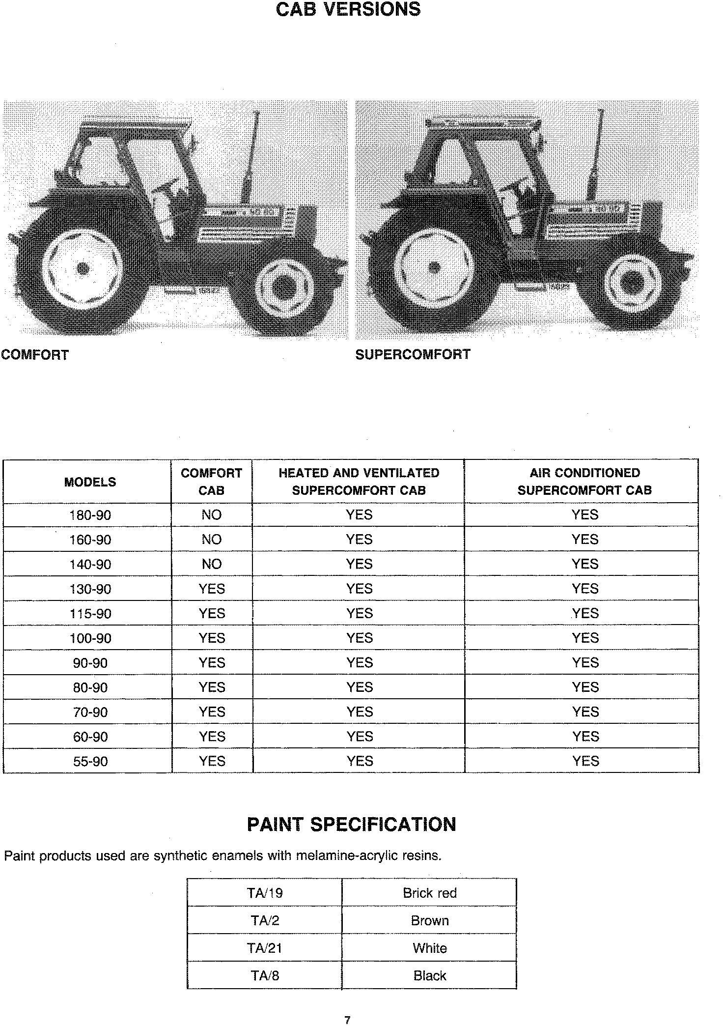 Fiat 55-90 60-90 70-90 80-90 90-90 100-90 115-90 130-90 140-90 160-90 180-90 Tractor Service Manual - 1