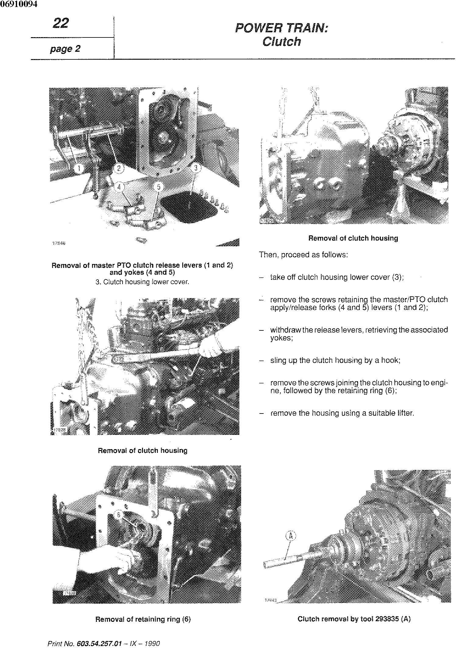 Fiat 55-65,60-65,70-65,80-65, 55-75,60-75,70-75,80-75, 465C, 555C, 665C, 765C Tractor Service Manual - 1