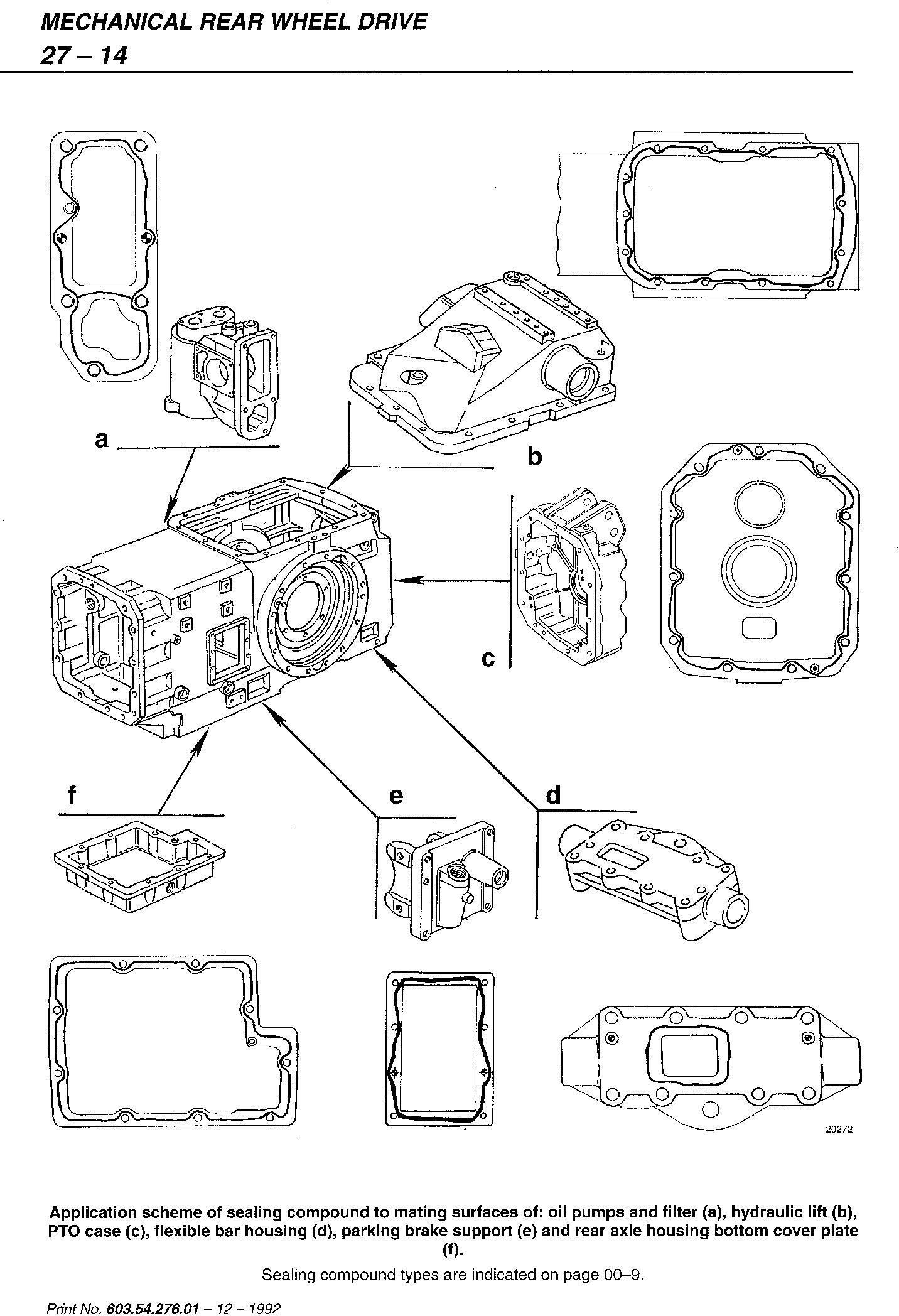 Fiat F100, F110, F120, F130 Turbo Tractor Service Manual (6035427601) - 3