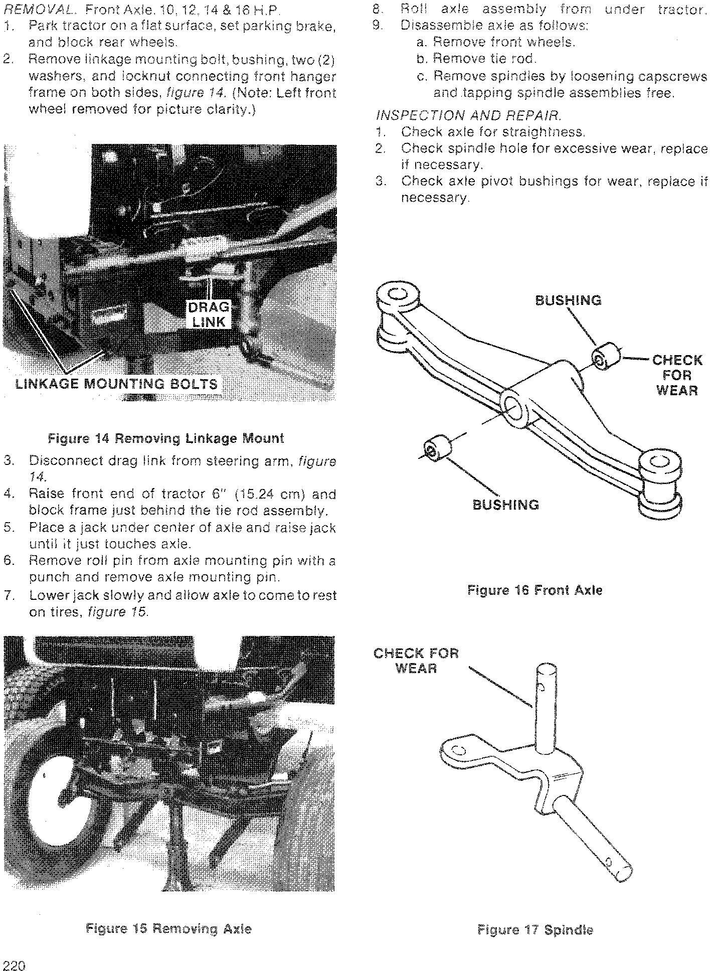Ford 100, 120, 125, 145, 165, 195 Lawn & Garden Tractor Service Manual - 3