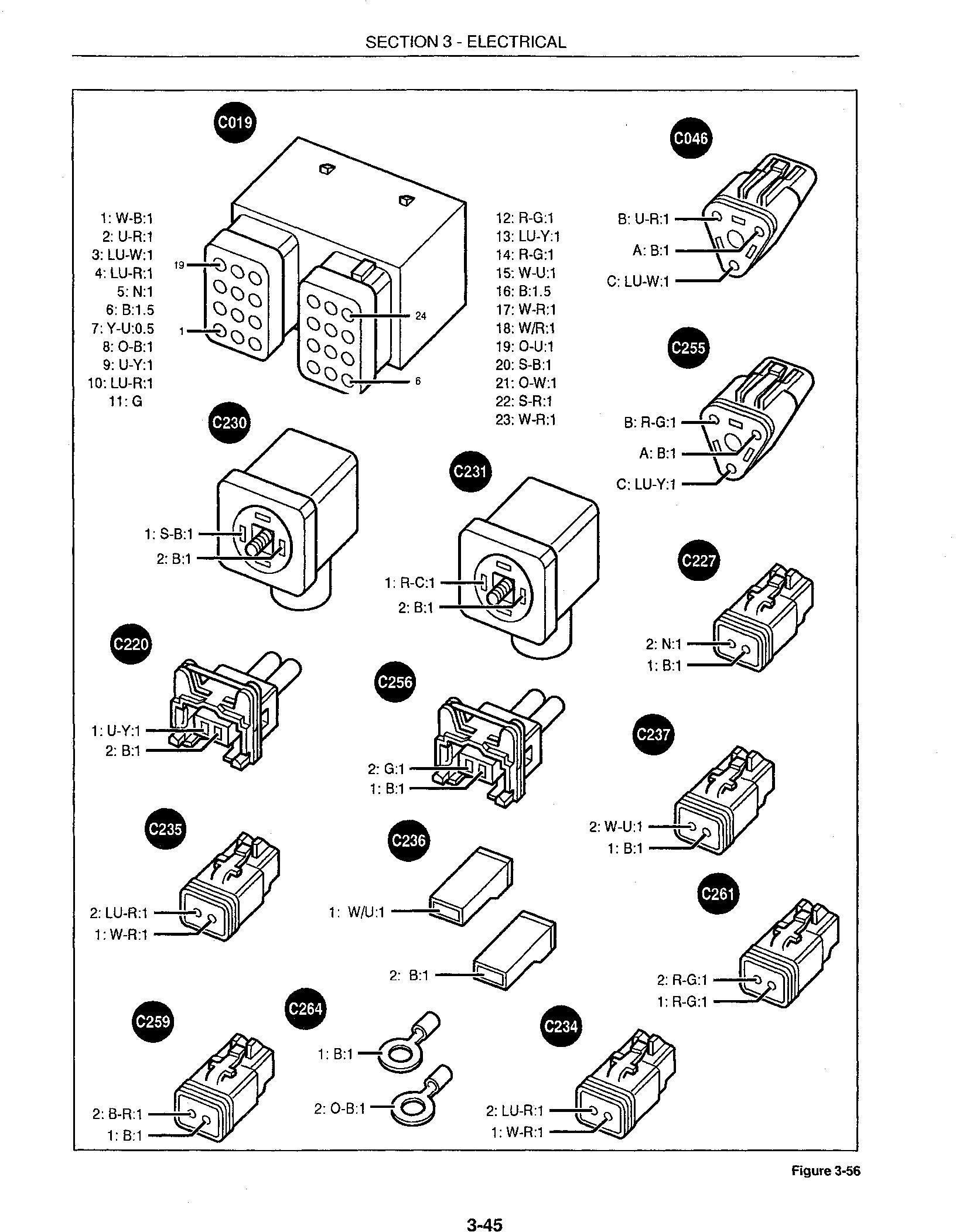 Ford 555E, 575E, 655E, 675E Tractor backhoe Loader Service Repair Manual - 3