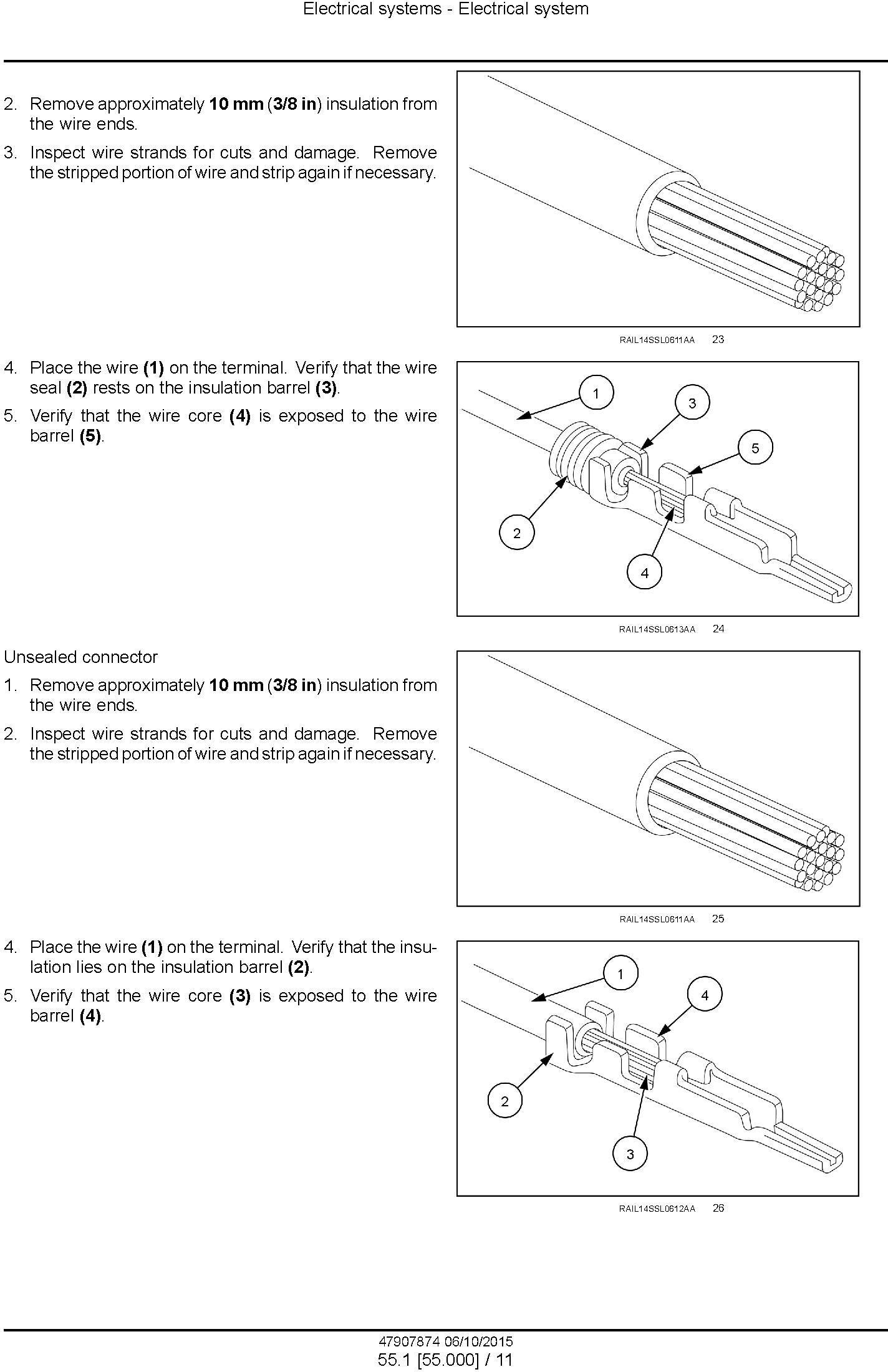 New Holland D125C Stage IIIB Crawler dozer Service Manual - 2