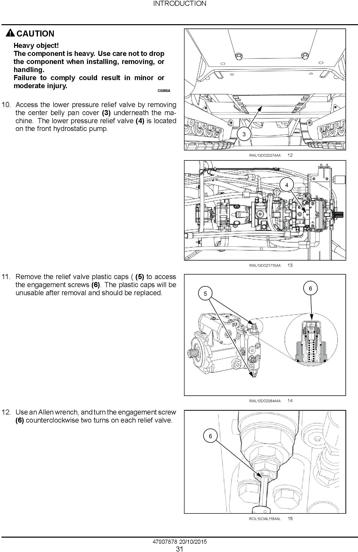 New Holland D180C Stage IIIB Crawler dozer Service Manual - 1