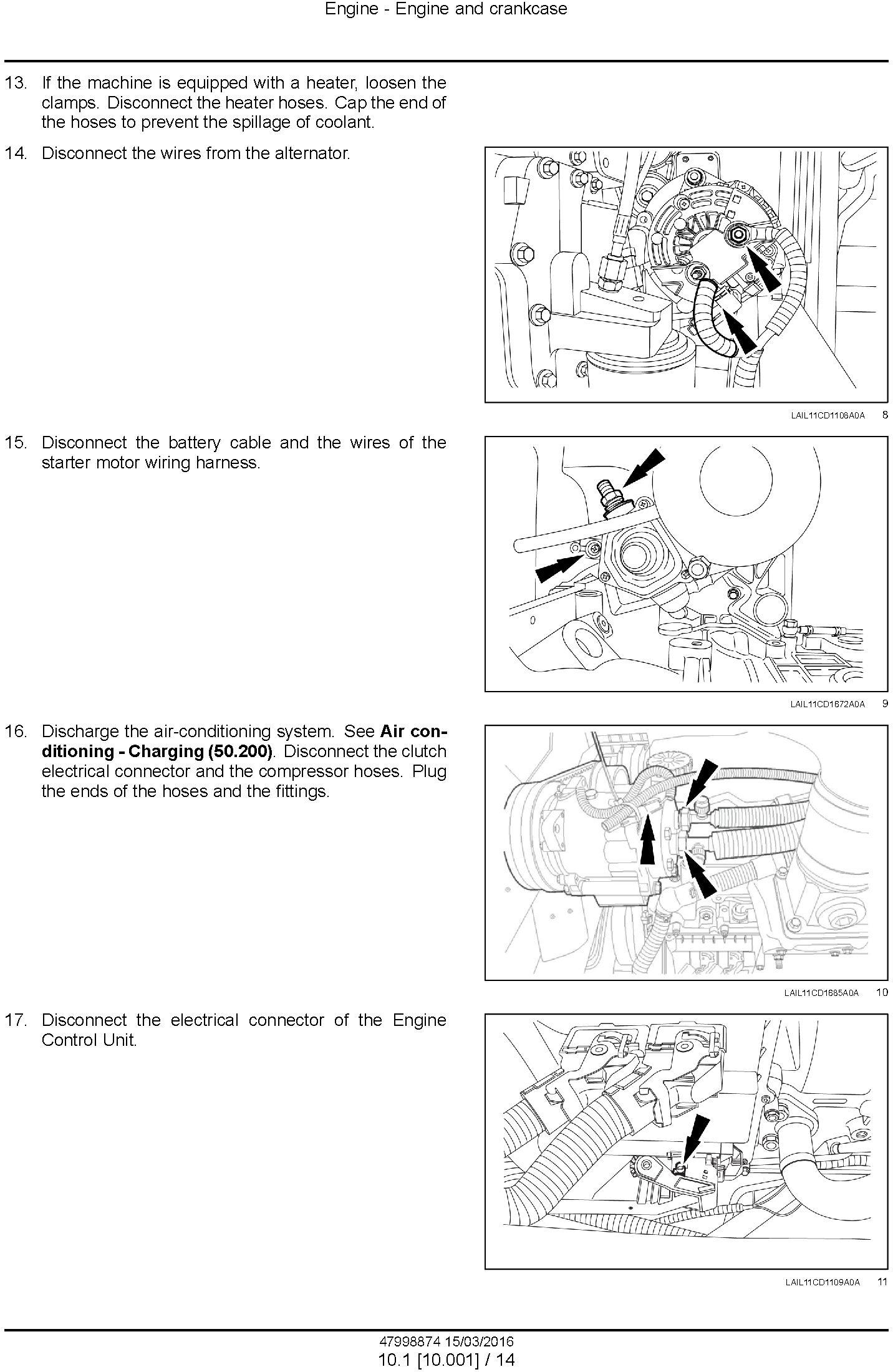 New Holland , Case 1150L Crawler dozer Service Manual - 2
