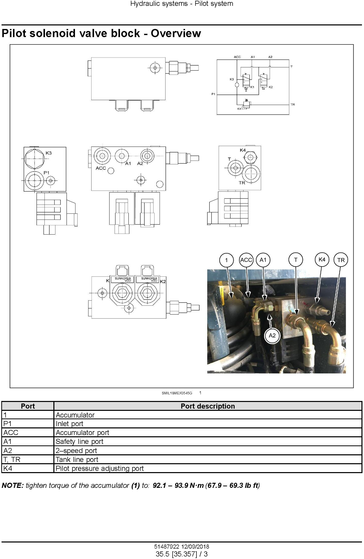 New Holland E37C Mini Excavator Service Manual (Europe) - 1