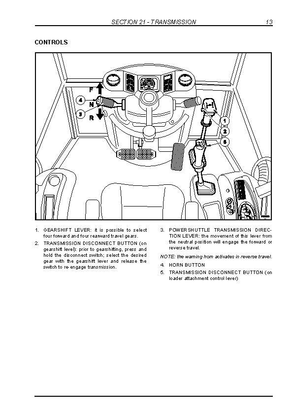 New Holland B90B, B95B, B95BLR, B95BTC, B110B, B115B Tier 3 Backhoe Loaders Service Manual - 2