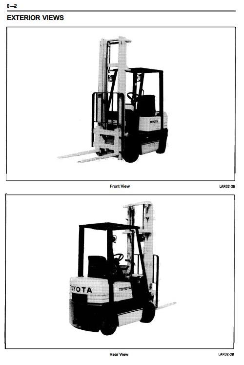 Toyota 5FGC10, 5FGC13, 5FGC15 LPG Forklift Truck Workshop Service Repair Manual (CE006+CE010) - 2