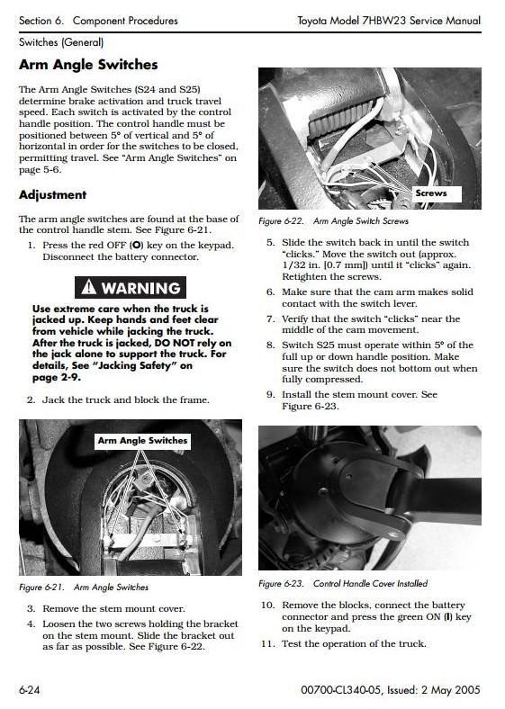 Toyota 7hbw23 Powered Pallet Walkie  Sn 24501