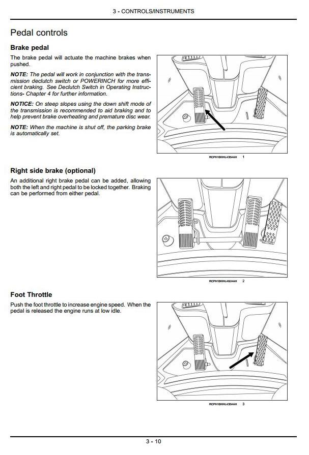 Case 621F, 721F (Tier 4) Front Loader Operating and Maintenance Instructions - 1