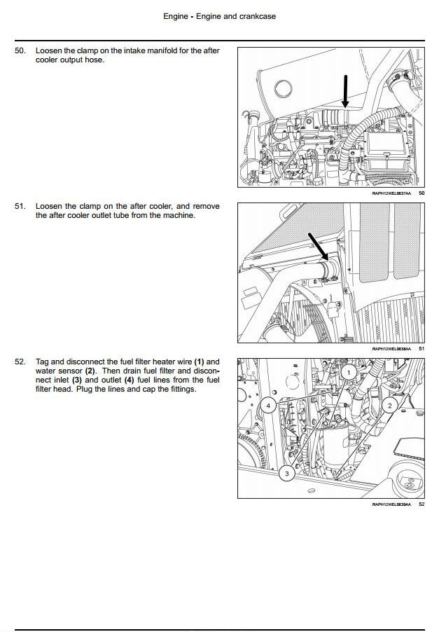 Case 621F, 721F Tier 4 Front Loader Workshop Service Manual - 1