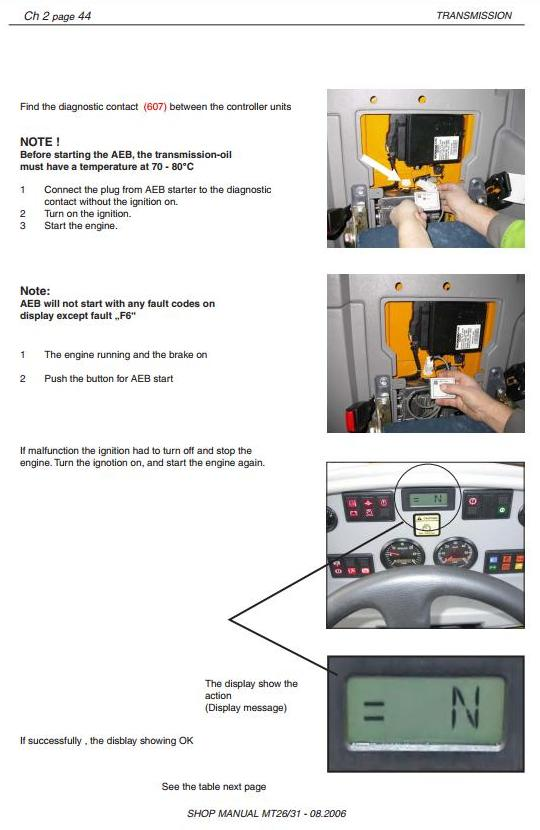 Doosan / Moxy MT26, MT31 Articulated Dump Truck Workshop Service Manual - 1