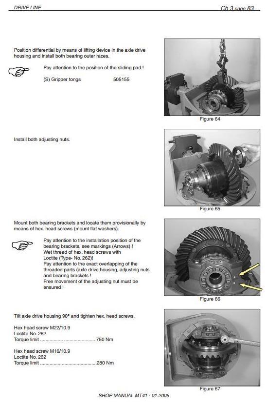 Doosan / Moxy MT36 Articulated Dump Truck Workshop Service Manual - 3