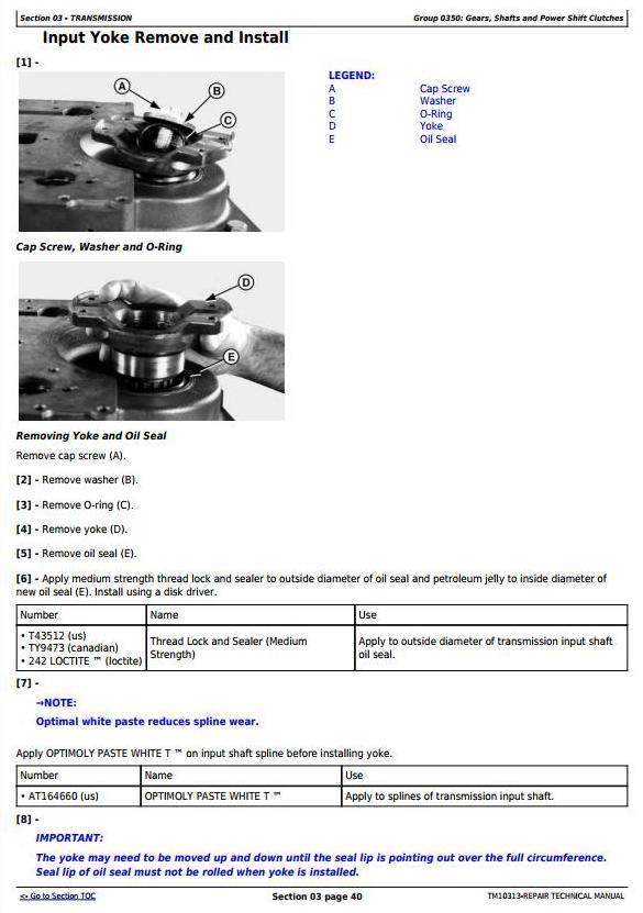 John Deere 640H and 648H (SN. before 630435) Skidders Service Repair Technical Manual (TM10313) - 3