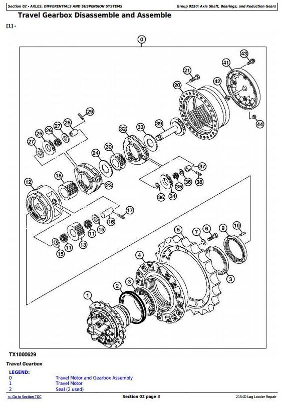 John Deere 2154D Log Loader Service Repair Technical Manual (TM10415) - 3