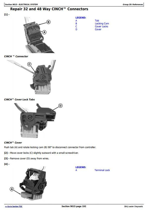 John Deere 304J Loader (SN. from 23372) Diagnostic, Operation and Test Service Manual (TM11216) - 2