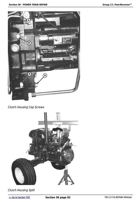 John Deere 5083EN, 5093EN, 5101EN Tractors Repair Technical Service Manual (TM112719) - 2