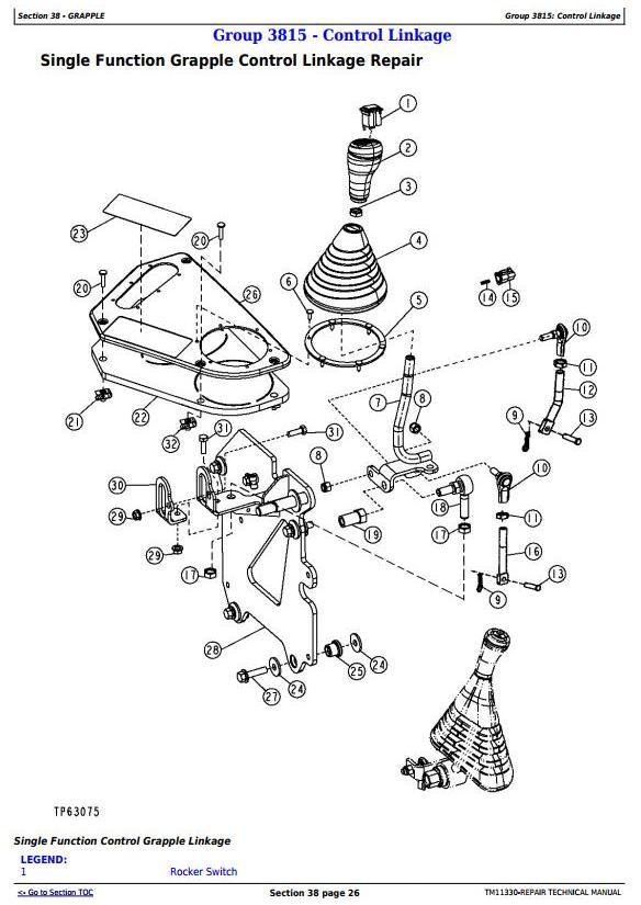 John Deere 540H Cable Skidder and 548H Grapple Skidder (SN.-630435) Service Repair Manual (TM11330) - 2