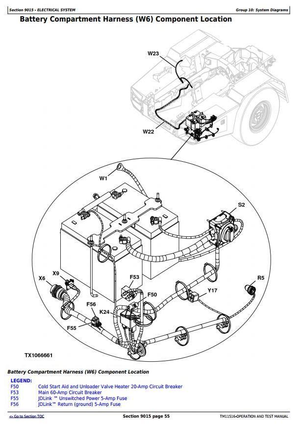 John Deere 250D, 300D Ser.2 Articulated Dump Truck (SN: 626761-642000) Diagnostic and Test (TM11516) - 1