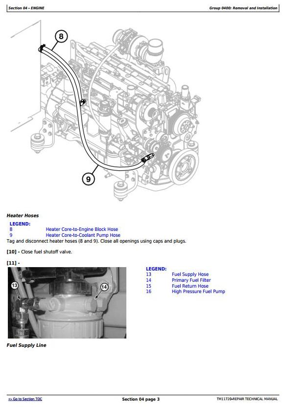 John Deere 335D (SN.C184061-) Knuckleboom Trailer Mount Log Loader Servcie Repair Manual (TM11720) - 3