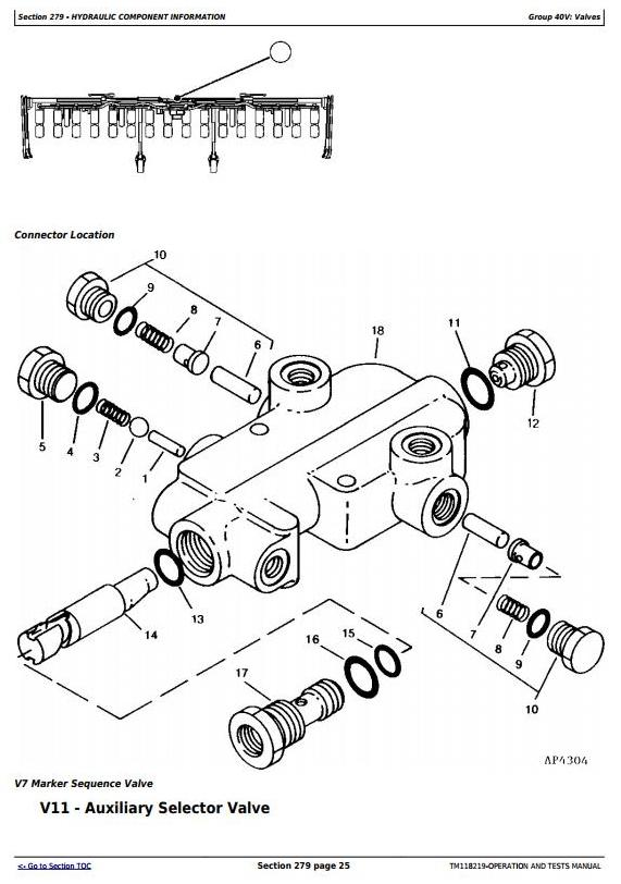 John Deere 1720, 1725 SeedStar 16 Row Planter (SN.745101-) Diagnostic Service Manual (TM118219) - 2