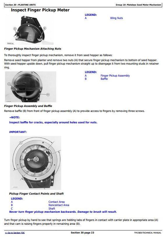 John Deere 1760, 1760NT, 1770 Drawn Planters Diagnostic and Repair Technical Manual (TM1583) - 1