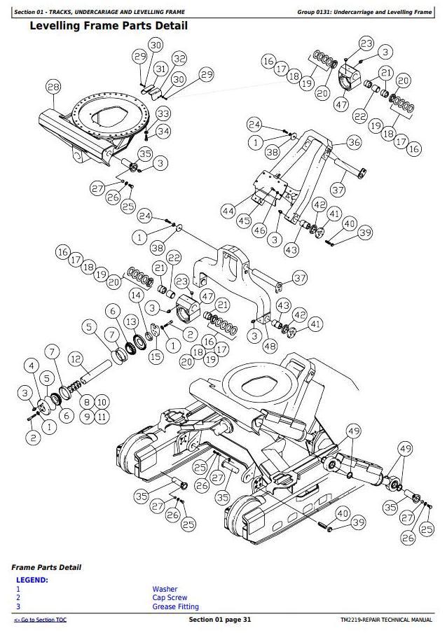 John Deere 759G (SN.001032-), 608L Tracked Feller Buncher Service Repair Technical Manual (TM2219) - 1