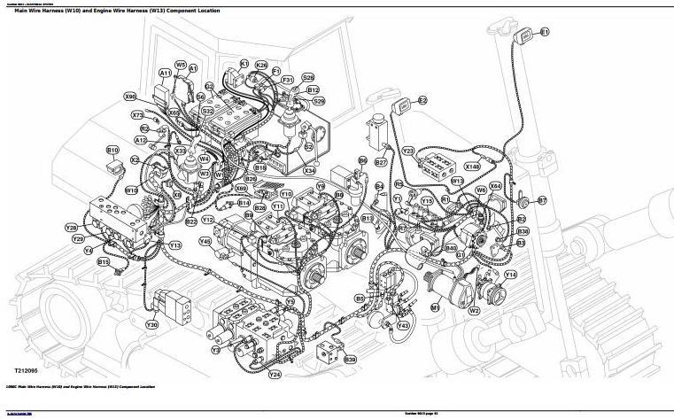John Deere 1050C Crawler Dozer Diagnostic, Operation and Test Service Manual (TM2300) - 3