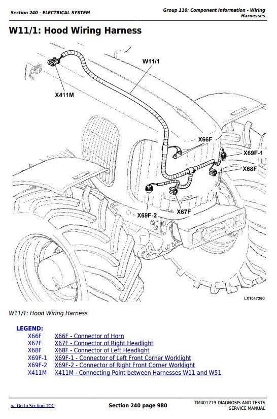 John Deere 5080R, 5090R, 5100R, 5080RN, 5090RN, 5100RN Tractor Diagnostic & Tests Service Manual TM401719 - 3