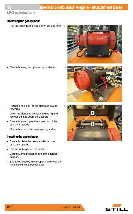 Still RC40-16, RC40-17, RC40-18, RC40-20, RC40-25, RC40-30, RC40-33,RC40-35 Forklift Workshop Manual - 1