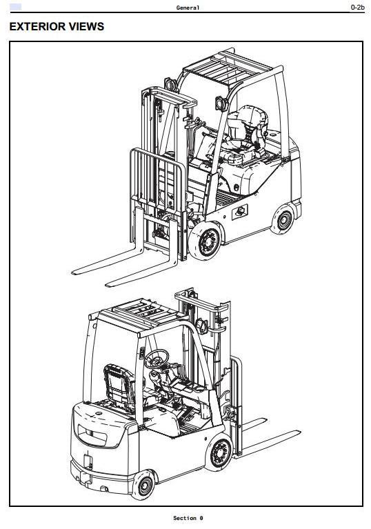 Toyota 8FDU15, 8FDU18, 8FDU20, 8FDU25, 8FDU30, 8FDU32 Diesel Forklift Truck Workshop Service Manual - 1