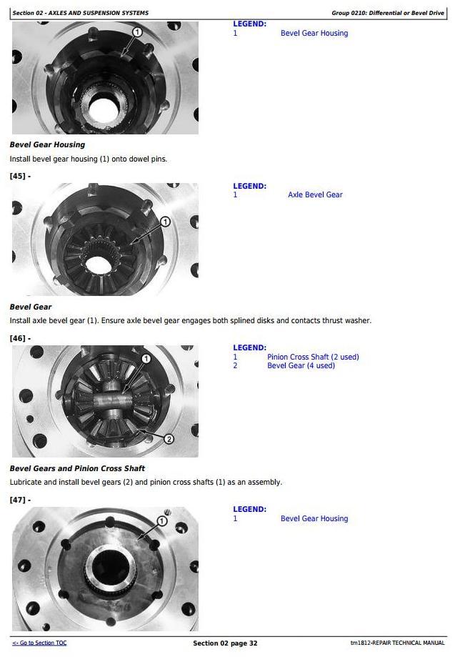 John Deere Bell B25C Articulated Dump Truck Service Repair Technical Manual (tm1812) - 3