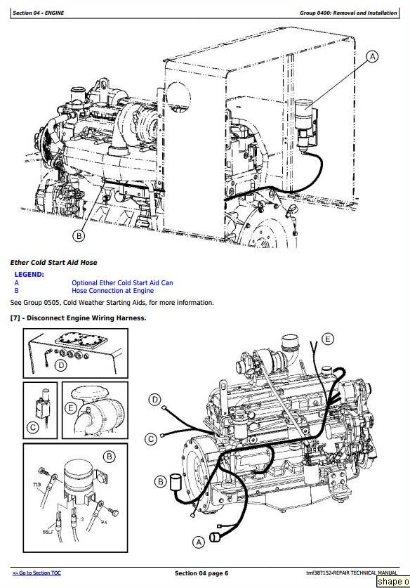 John Deere Timberjack 435, 430B Series II Knuckleboom Trailer Mount Log Loader Service Repair Manual TMF387152 - 3