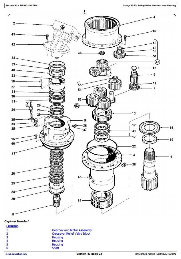 John Deere Timberjack / 608B (SN.05014-) Tracked Feller Buncher Technical Service Manual (tmf387520) - 2