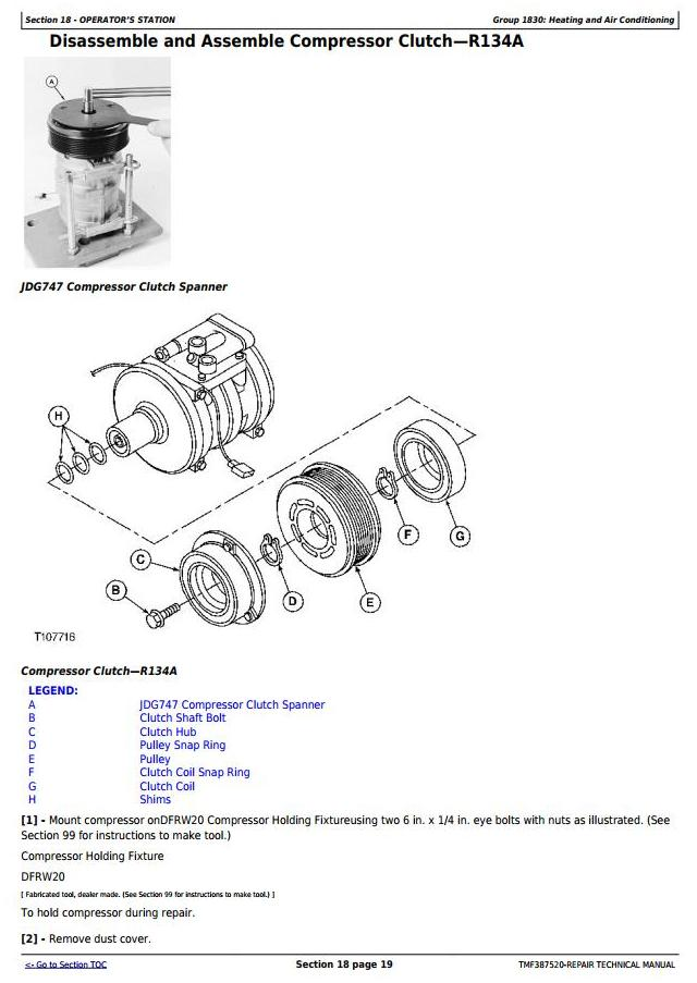 John Deere Timberjack / 608B (SN.05014-) Tracked Feller Buncher Technical Service Manual (tmf387520) - 3